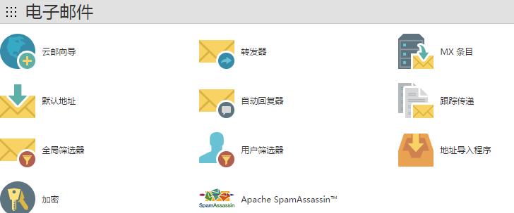 电子邮件板块