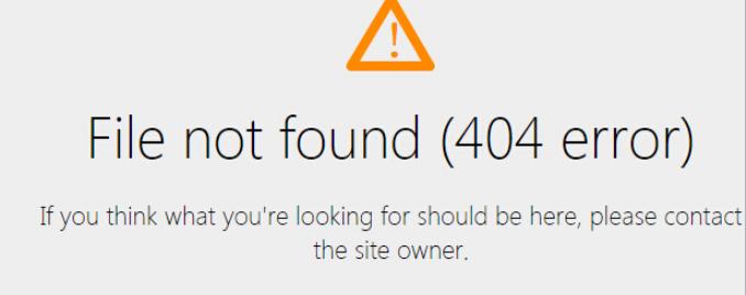 GoDaddy主机网站出现404页面的原因有哪些?