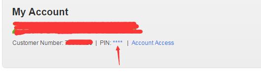 """看到如图所示的地方,点击PIN后面的""""****""""进去就可以看到PIN码"""