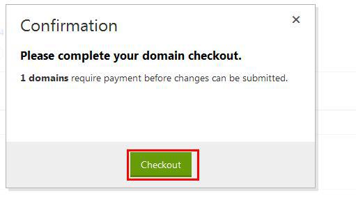 """然后就是核对下我们需要续费的信息,确认无误后,就直接点击""""Checkout""""进入下一步。"""